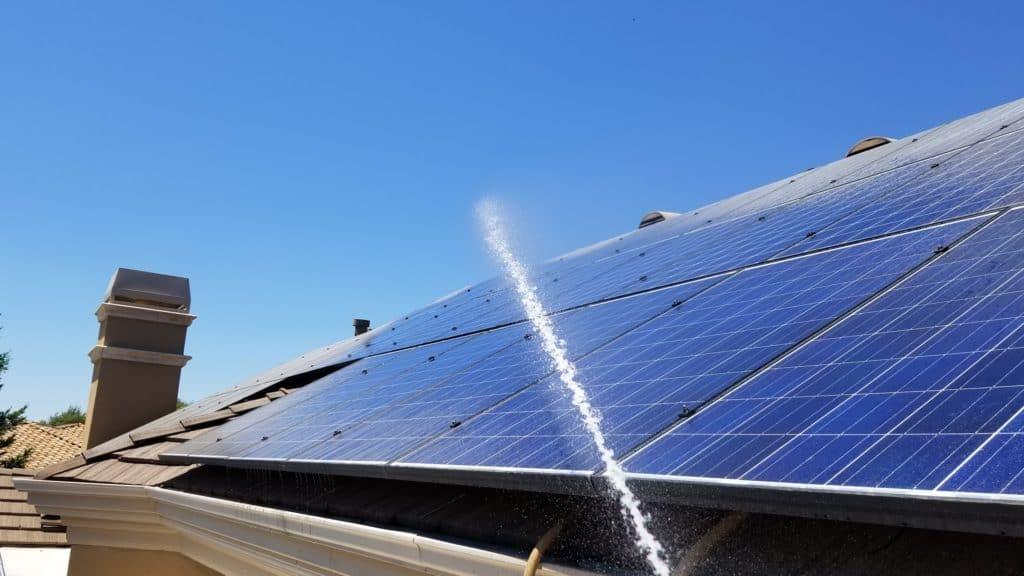 No Moss Solar Panel Cleaning sacramento elk grove