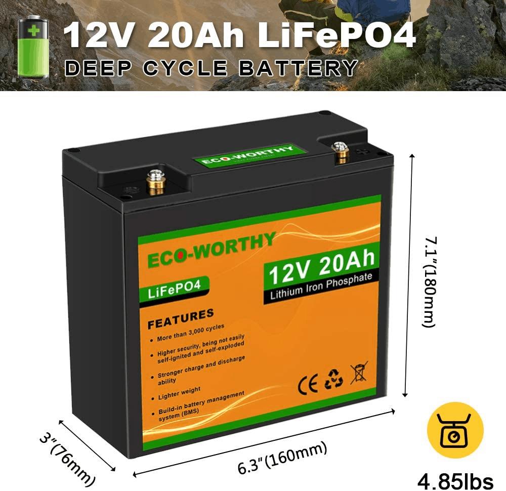 Eco Worthy Battery