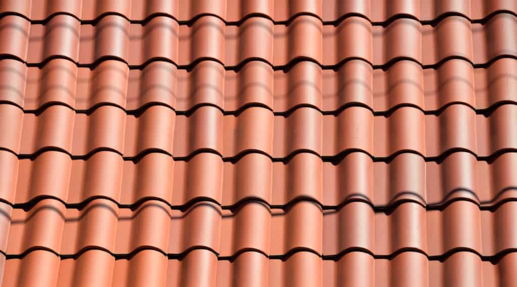 Photo of clay tile roof