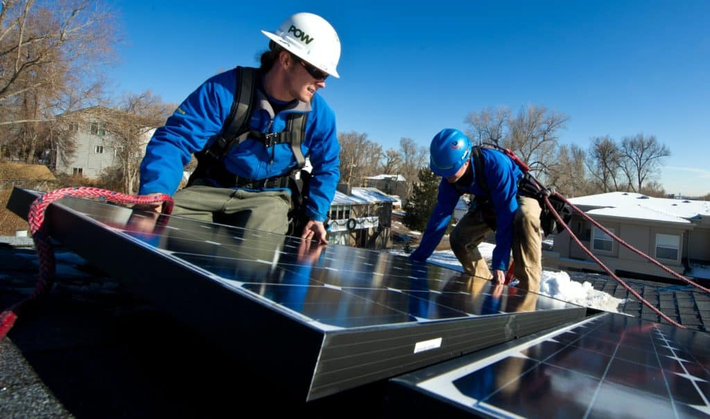 How to attach solar panel to roof